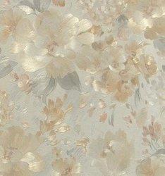 Duvar kağıdı kaplama çiçek deseni üç renk tatlı ve retro