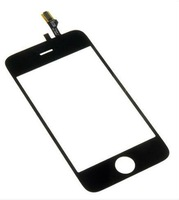1pc NEW TOUCH SCREEN DIGITIZER REPLACEMENT repair part with Adhesive Tape Sticker for iphone 3GS BLACK Original OEM