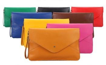 Envelope Handbag Stylish Ladies' Totes /Design Fashion Shoulder Bag Envelope Bag 10colors in stock Free Shipping