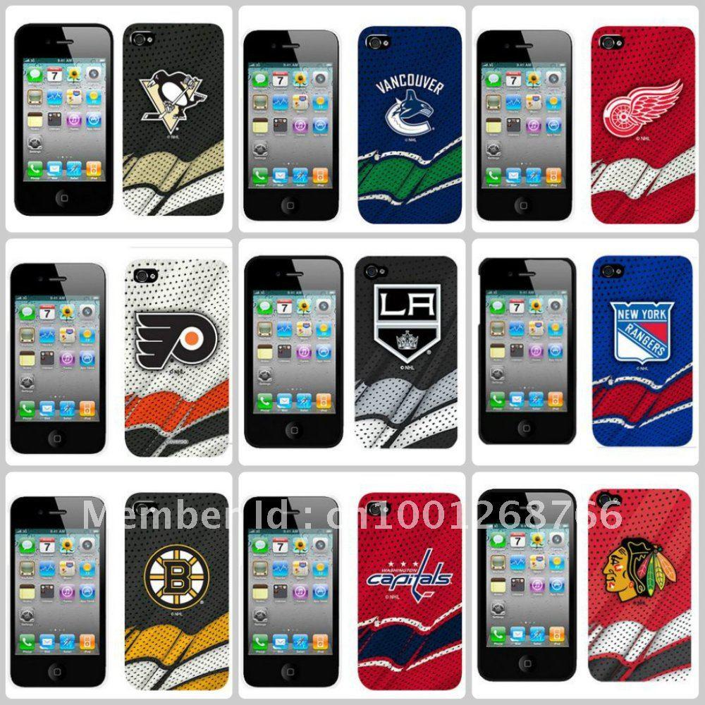 Hard plastic ice hockey team chicago blackhawks mobile phone case for