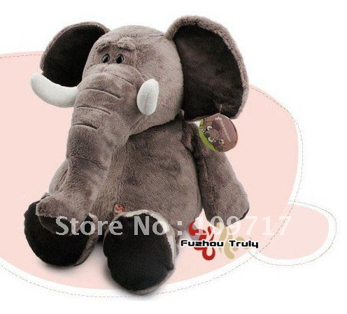 Free Shipping Cute Calf Elephant Toy for kids(China (Mainland))