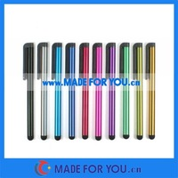 Capacitive Stylus Touch Pen For Ipad/Iphone/HTC/Samsung/Tablet PC(STP-I003) 5000pcs/lot DHL Free Shipping