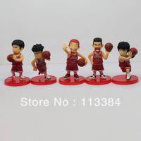 5pcs/lot Free shipping Super Slams Cartoon PVC figure Model Toy Wholesale and Retail (5 pcs/set )