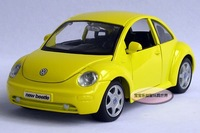 Free shipping--1:24 beetle / edition alloy model car /  puzzle toy Christmas gift