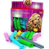 Free shipping!Hot Sell Color Curlers Curl Rope DIY Circle Hair Styling Rollers Curlers Hair Tools