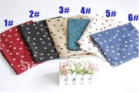 free shipping.women's fashion chiffon polka dot popular silk long muslim hijab scarf/scarves/shawls.165*70cm,20pcs/lot