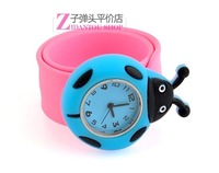 wholesale 50pcs/lot  New Brand  Fashion Electronic cartoon Ladybird  Watches for perfect Christmas Gifts