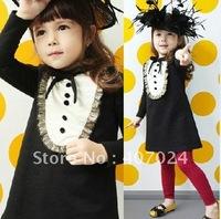 Sale girls princess dress, Cotton kids dress, baby girls dresses, children clothes, 5pcs/lot,  630179J