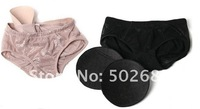 Wholesale 100pcs/lot -Ladies Sexy Hip panty, Hip enhancer Shaper Panties,Ventilation & lace panties with cushions  free shipping