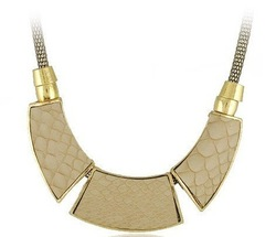 Factory Price 2012 Newest Necklace Jewelry Hot Wholesale Snake Leather Chokers necklaces Vintage Costume jewelry party necklace(China (Mainland))