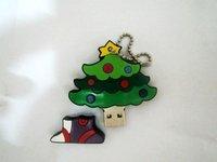 FREE SHIPPING  Christmas tree   usb flash drive   2GB 4GB 8GB 16GB 32GB USB DISK