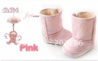 New arrived baby boots For 6M~24M Winter Warmer Baby Snow Boots 4Pairs/lot Baby Shoes/Infant Shoes
