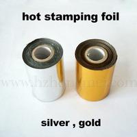Golden Hot stamping foil 6cm*120m (1 pcs one lot)