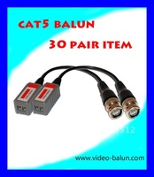 30 Pair Single channel passive video Balun