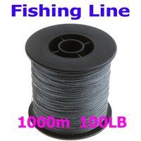 Free Shipping, 1000M 100LB Super Dyneema Strong Braided Fishing Line