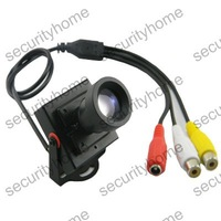 Mini HD 600TVL 25mm Low Illumination CMOS High Resolution Video Security CCTV Camera with MIC