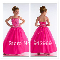 Hot Selling Flower Girl Dresses Cute Child Dress for Weddings Birthday