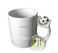 JETYOUNG World Cup Football Mug Sublimation DIY mug coffee mug DIY gift Sample Economic DHL shipment, 36/pack