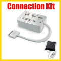 New 5 in 1 HUB USB SD Card Reader Camera Connection Kit for iPad or iPad 2 3