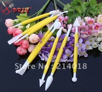 Free shipping 8pcs/SET Fondant Cake modelling pen Decorating Craft Tool Cutter cake Making Pen(fo-004)