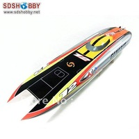 Genesis 1122 Catamaran Racing Boat/ Electric Brushless Boat Fiberglass with 3674  water cooling motor , 125A ESC with BEC