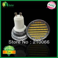 LED spot lamp lighting 5w SMD3528 80pcs GU10/MR16/E27/E14 Fin Spot light /GU10 free shipping