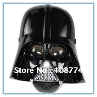 Free shipping,5pcs/lot Star Wars mask for halloween,plastic black Ansimilar Skywingker Darth Vader mask 2 styles can mix