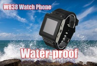 W838 Waterproof Watch Phone: Stainless Steel Waterproof , Single Sim, Water Proof Grade IP67, Watches Men, Women watch, gifts!