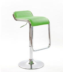 Bar Stool Synthetic Leather Surface and Chrome base with class 3 accessories 2 pcs(China (Mainland))