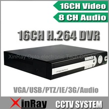16CH Real-time CCTV Standalone DVR , 16CH Video and 4CH Audio support Remote Viewing by Network and Smartphone,XR-5416MR-03A