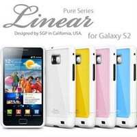 SGP Linear Pure Series Case for Samsung Galaxy S2, for Samsung i9100 SGP Linear case + Free Shipping wholesale 10pcs