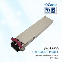 Cisco 10GBASE-ER/-EW and OC-192/STM-64 IR-2 XFP Transceiver Module , XFP10GER-192IR-L