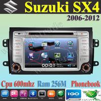 "7"" Car DVD Player With GPS navigation autoradio stereo  For  SUZUKI SX4 2006 2007 2008 2009 2010 2011 2012"