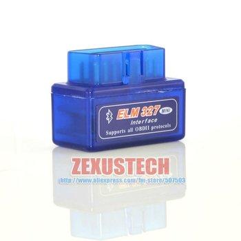 The Smallest V1.5 Super Mini ELM327 Bluetooth OBD II OBD 2 Diagnostic Tool for Audi BMW VW Honda Android Torque