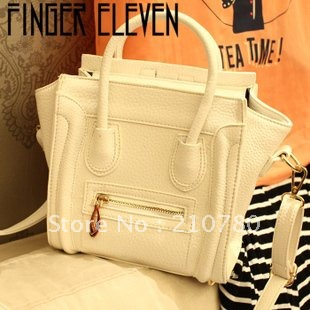 Newly high quality pearl smell face leather bag ,Hot sale Freeshipping famouse brand handbag Europe style Promotion!! 86190