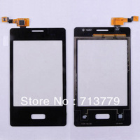 for LG Optimus L3 E400 touch screen digitizer original black (5pcs/lot) by shipping DHL,EMS