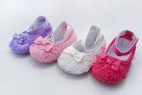 Wholesale Baby Rose Bow shoes Girls/Boys socks kids sandal Baby toddler infant shoe,Children leg warmer,Free shipping 12 pair