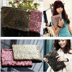free shipping fashion Clutch bag, pu leather women handbags, shoulder messenger bag Wholesale/ Retail