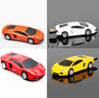 The toy car Lamborghini Model USB 2.0 Flash Memory Stick Pen Drive 2GB 4GB 8GB 16GB 32GB LU088