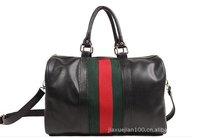 2015 Fashion Women Bag PU Leather Bags Handbags Women Famous Brands Women Messenger Bags Bolsas Femininas Stripes Free Shipping