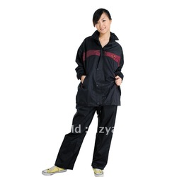 2012 Fashion 190T PVC rain Jacket Wholesale(China (Mainland))