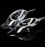 freeshipping 2009-2011 Chevrolet Chevy Cruze ABS chromed front fog lamp cover 2pcs car accessories for cruze#1114