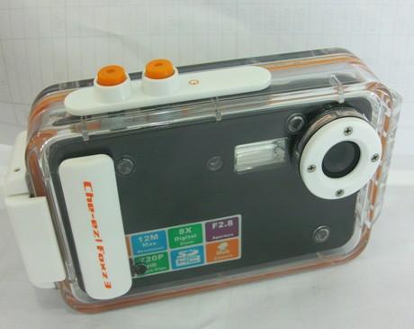 Domestic DC-Z68 waterproof camera 12 million pixel digital camera cheap camera 2.4-inch display(China (Mainland))