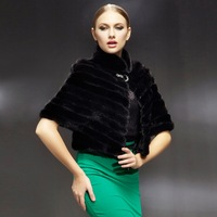 2012 NEW Genuine Mink fur shawl poncho stole cape wrap high-quality Mink fur highly recommend