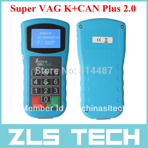 Super VAG K+CAN Plus 2.0 VAG Diagnostic Tool super vag k can plus 2 0 Hot Selling Fast Shipping by DHL(China (Mainland))