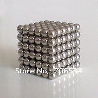 DIY Educational Magic Cubes NdFeB Magnet  216Pcs/Set+4Pcs 5mm Neo Cube N35 Neocube Balls With Tin Box Four Colors