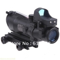 Hot selling 4x Zoom Trijicon ACOG TA31RCO-A4 NSN1240-01-525-1 Rifle Scope Aiming Sight Telescope with Light Control+ Gun Mount