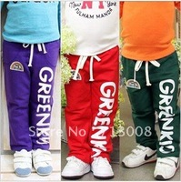 free shipping wholesale 2012 new style boy and girl sports type Children pants