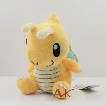 "free shipping 1pc Pokemon 7""  cute Dragonite Soft Plush toy High quality Doll"