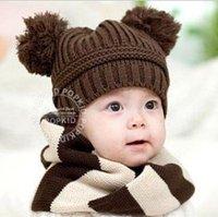 Hot !!!2012 NEW Lovely panda fur,kids hats,baby hats,cute caps,beanie,winter hat,Free shipping(HA-005)